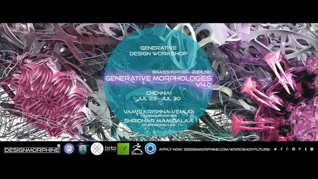 DesignMorphine_Generative Morphologies V4.0_Promo
