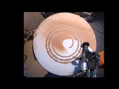 """Sail- Awolation"" Robotic Sound Processing (milling)"
