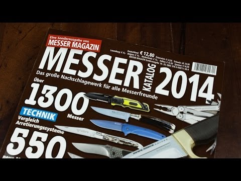 Messer Katalog 2014 - It Is Time To Learn German! ;-)