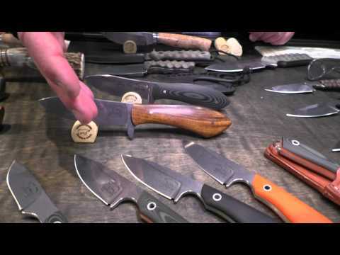 Beautiful Blades from White River Knife and Tool: SHOT Show 2015