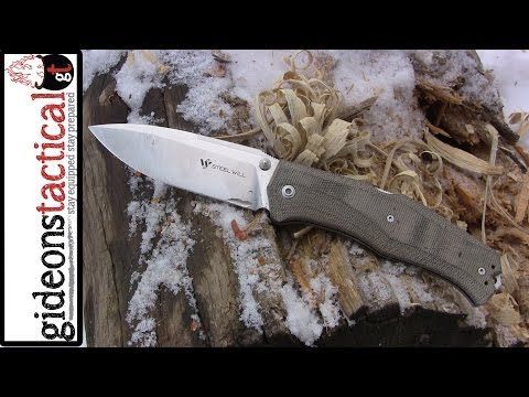 Steel Will Knives Gekko 1500: Bushcraft Folder?