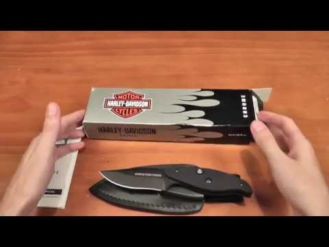 Push Dagger T-Rod by Harley Davidson Benchmade 13450