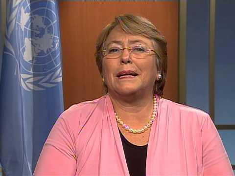 Michelle Bachelet: El Día Internacional de la Eliminación de la Violencia contra las Mujeres