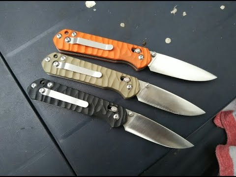 Modified Ganzo G-717 and G-716