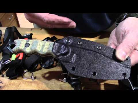 Buck's New Tactial Knives in their Tactical Series - SHOT Show 2015