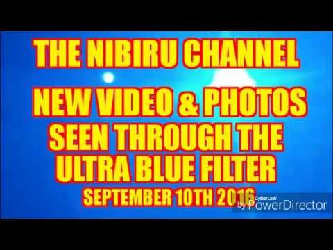 NIBIRU PLANET X...Seen through the Ultra Blue Filter