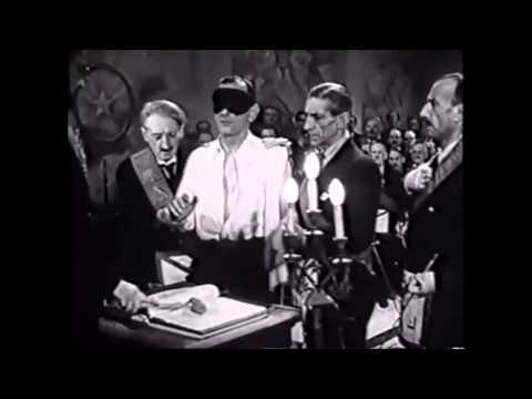 Old French Freemason Movie From 1943
