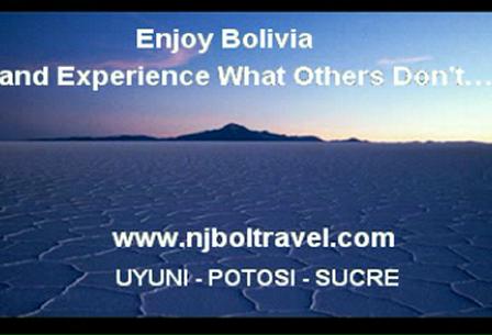 Uyuni - Potosi - Sucre Njbol Travel