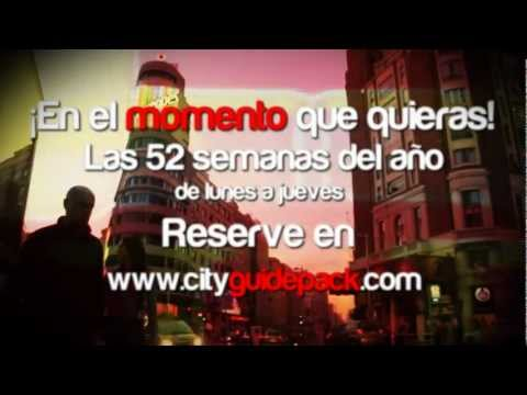 Viajar con CityGuidePack es una garantía para vivir 72 horas inolvidables en Madrid!