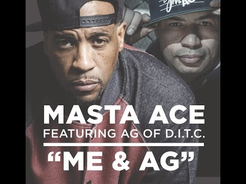 MASTA ACE  -  ME & AG FEAT A.G. (Official Video)
