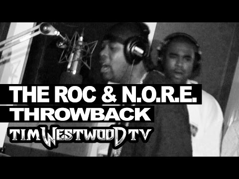 Rocafella & N.O.R.E. freestyle only ever time together! Throwback 2004 - Westwood