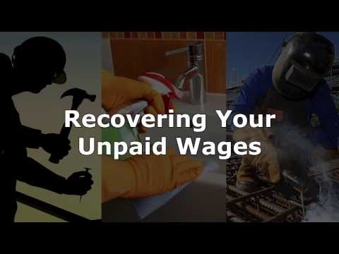 How to Recover Unpaid Wages