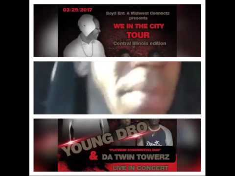 Young Dro Announces March 25th Concert @ Wet Bar in Springfield, Illinois w/ @Datwintowerz