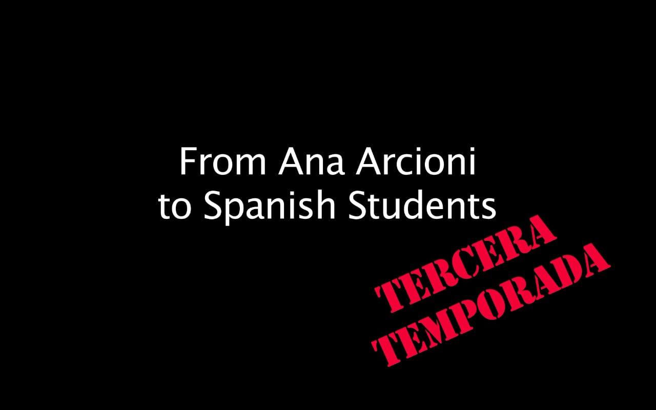 Spanish Lessons - 3x15 - Tu lugar en el mundo