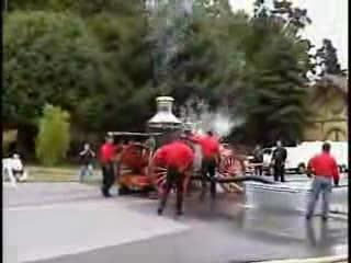 """CARROS ANTIGUOS: """"LA MAQUINA Nº 2 STEAM FIRE ENGINE DE 1902"""" DEL DEPARTAMENTO DE INCENDIOS DE EUREKA / CALIFORNIA, ESTADOS UNIDOS"""