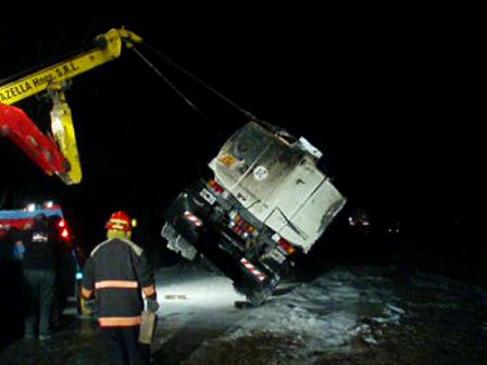 Explosión de Camión cisterna, durante trabajos de rescate de la Unidad / Video Destacado de La Hermandad de Bomberos