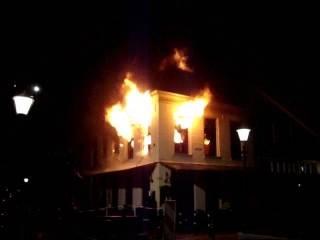 incendio de departamento