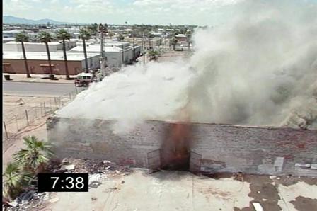 Prueba de resistencia al colapso estructural 1 / Video Destacado de La Hermandad de Bomberos