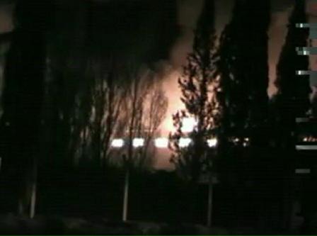 Bomberos de Trelew, Chubut / Incendio de fabrica - planta de reciclado de plasticos -