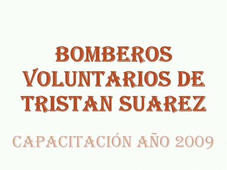 Bomberos Voluntarios de Tristan Suarez