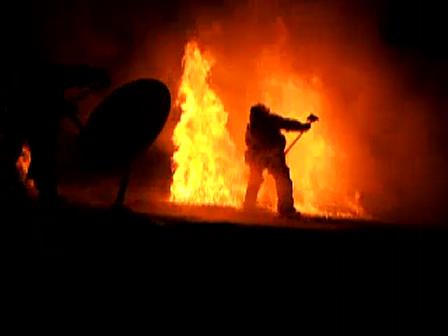 Departamento de Incendio de Los Angeles / Otra vez en el techo
