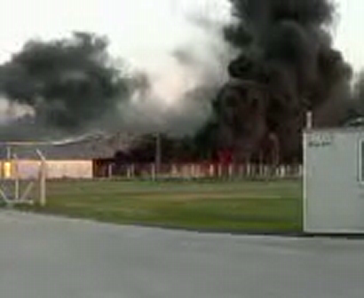 Incendio frigorifico / Video Destacado de La Hermandad de Bomberos