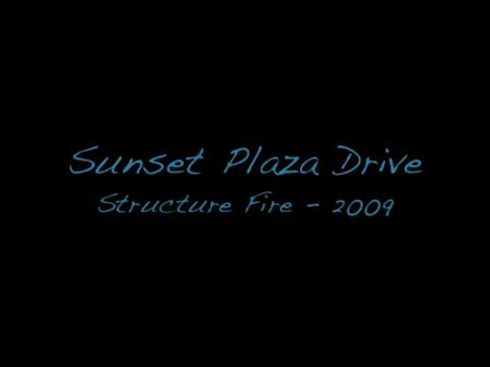 Departamento de Incendios de Los Angeles /  Sunset Plaza / Septiembre de 2009 / video Destacado de La Hermandad de Bomberos