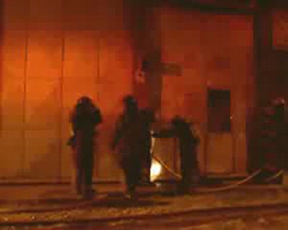 Incendio de taller 20/10/2009
