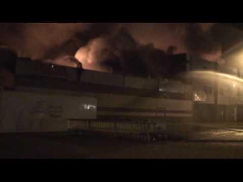 29 de Octubre de 2009 / Holanda / Gran Incendio de Centro Comercial / 2