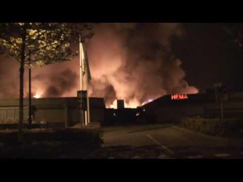 29 de Octubre de 2009 / Holanda / Gran Incendio de Centro Comercial