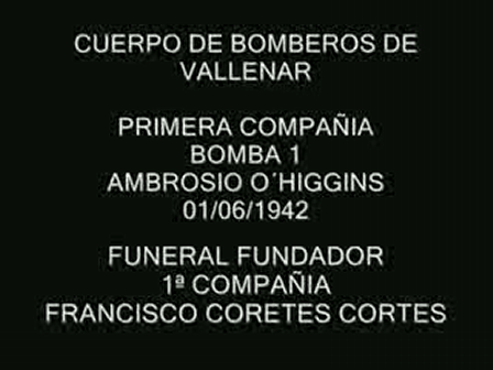 BOMBEROS VALLENAR / Video Destacado de La Hermandad de Bomberos