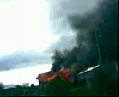 incendio declarado de vivienda en bariloche los coihues