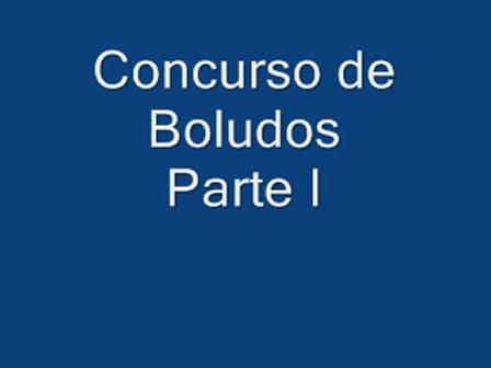 Concurso de Bolud... - Parte I