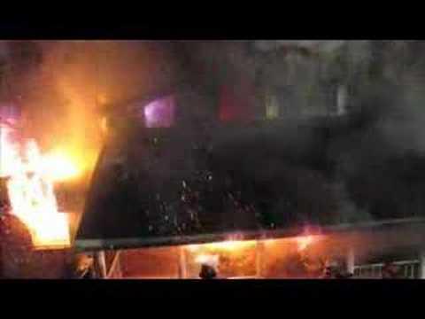 Departamento de Bomberos Voluntarios de Granville, Estados Unidos / Trabajo realizado durante un Incendio Estructural