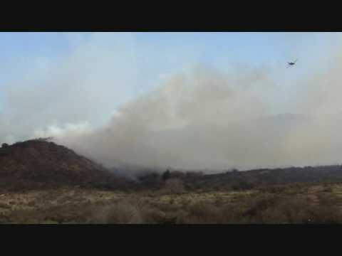 Incendio en La Paisanita, Alta Gracia - Cordoba, Argentina. 19-08-2009 / Video Destacado de La Hermandad de Bomberos