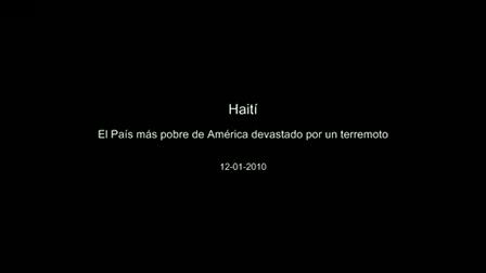 Terremoto en Haití / Video Destacado de La Hermandad de Bomberos