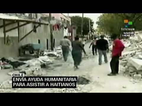 Chile intensifica esfuerzos para ayudar a Haití
