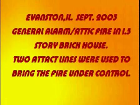 29 de enero 2010, los Bomberos son enviados a un incendio en una casa en 566 St. Dennis en Adrian, Estados Unidos