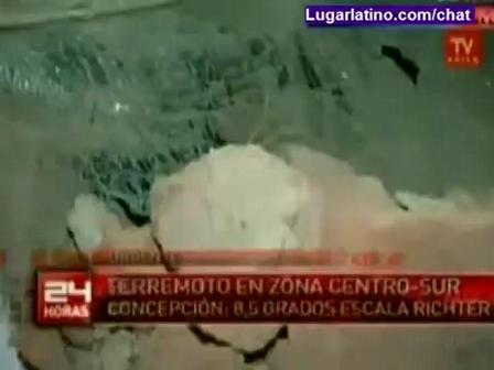 Terremoto en Chile -