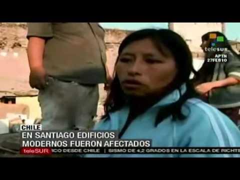 Terremoto destruye cientos de viviendas en Santiago