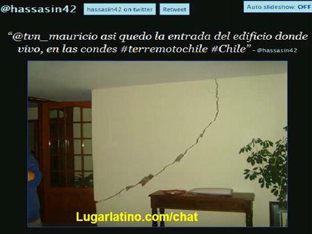 Imagenes del Sismo / Terremoto en Chile