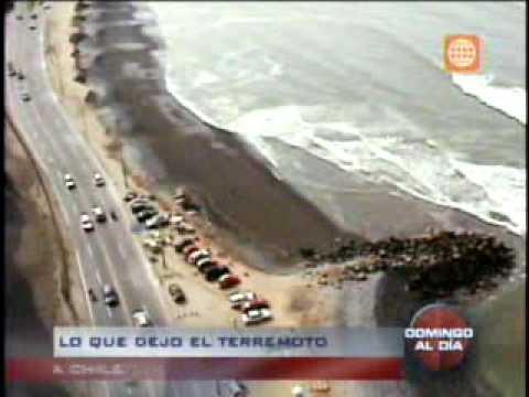 Lo que dejo el terremoto en Chile - Domingo al Día (2/2) 28-02-2010