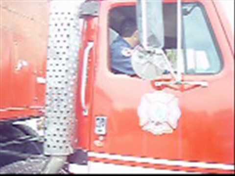 06 de marzo de 2010 / Operativo Rumbo Sur / Preocupacion de Bomberos Mexicanos por la situacion en Chile