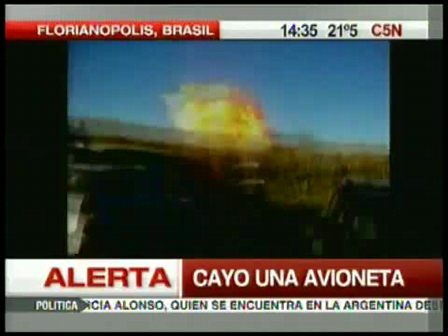 03 de abril de 2010 / Trágico accidente aereo en Brasil