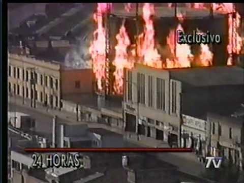 INCENDIO EN EL GASOMETRO DE VALPARAISO AÑO 1994 / Video Destacado de La Hermandad de Bomberos