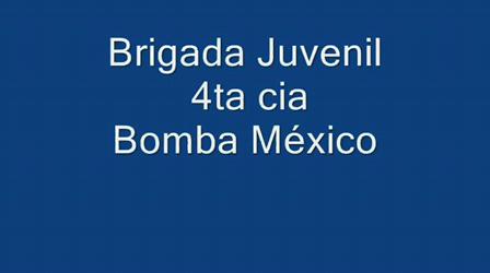brigada de La Cuarta Compañia / Bomba Mexico / Chile