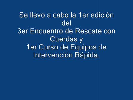 3er Encuentro de Rescate Villa Maria 2010