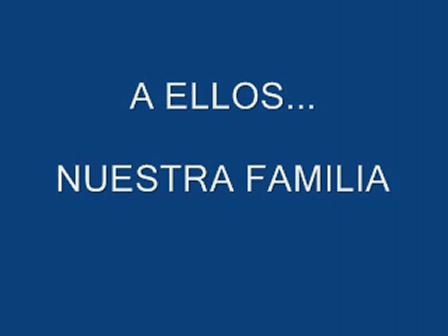 A ELLOS... NUESTROS FAMILIARES / Video Destacado de La Hermandad de Bomberos