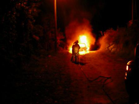 incendio vehicular navar city abril 10 2010 hora 23