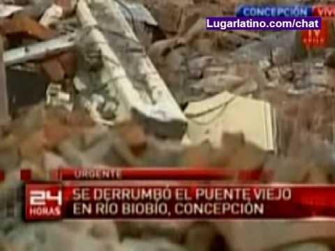 Terremoto en Chile - Daños en Concepcion